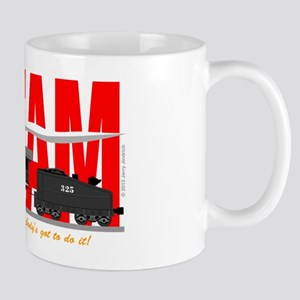 Steam Logo Mugs