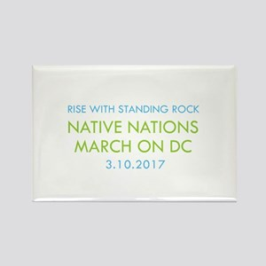 RISE WITH STANDING ROCK Magnets