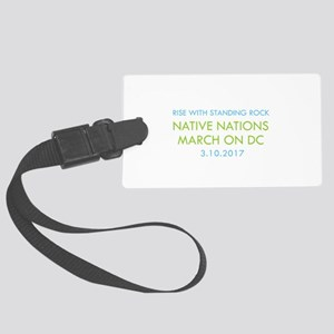 RISE WITH STANDING ROCK Luggage Tag