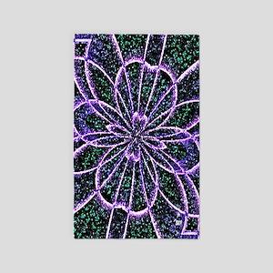 Lavender Rose 3'x5' Area Rug