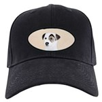 Parson Jack Russell Terrier Black Cap with Patch