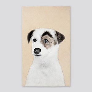 Parson Jack Russell Terrier Area Rug
