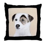 Parson Jack Russell Terrier Throw Pillow
