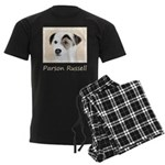 Parson Jack Russell Terrier Men's Dark Pajamas