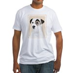 Parson Jack Russell Terrier Fitted T-Shirt