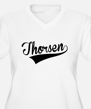 Thorsen, Retro, Plus Size T-Shirt