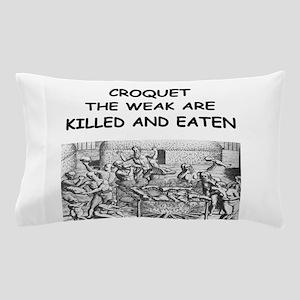 CROQUET6 Pillow Case