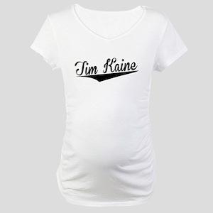 Tim Kaine, Retro, Maternity T-Shirt