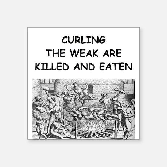 CURLING3 Sticker