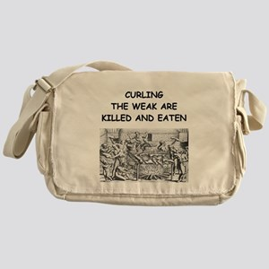 CURLING3 Messenger Bag