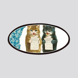 funny singing cats Patches