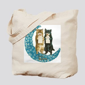 funny singing cats Tote Bag