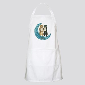 funny singing cats Apron