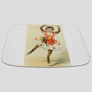 cat ballerina Bathmat