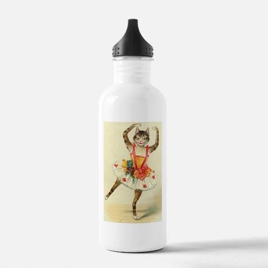 cat ballerina Water Bottle