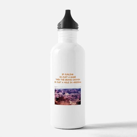 CURLING2 Water Bottle