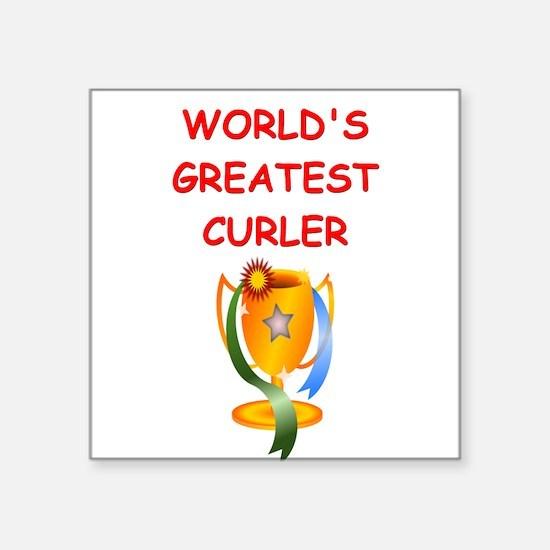 CURLER2 Sticker