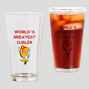 CURLER2 Drinking Glass