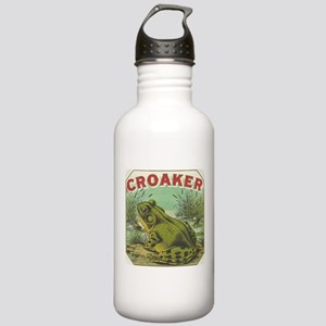 funny frog picture Water Bottle