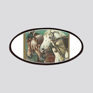 vintage horses Patches