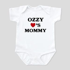 Ozzy loves mommy Infant Bodysuit