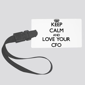 Keep Calm and Love your Cfo Luggage Tag