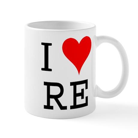 I Love RE Mug