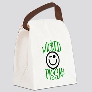 Wicked Pissah Canvas Lunch Bag