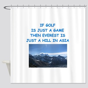 GOLF6 Shower Curtain