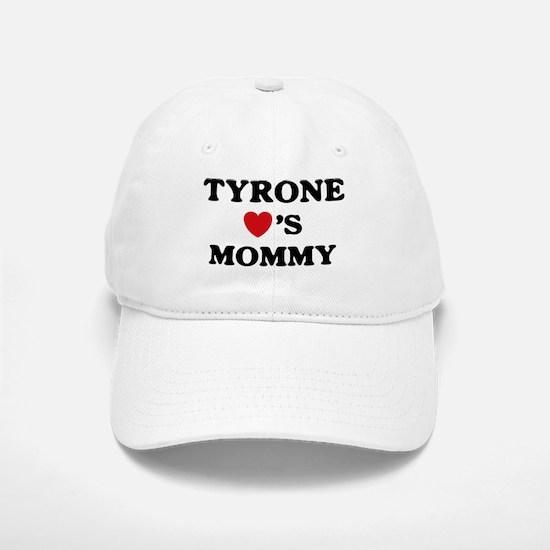 Tyrone loves mommy Baseball Baseball Cap