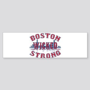 Boston Wicked Strong Bumper Sticker