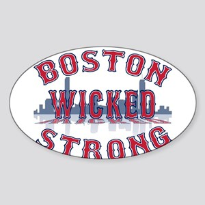 Boston Wicked Strong Sticker