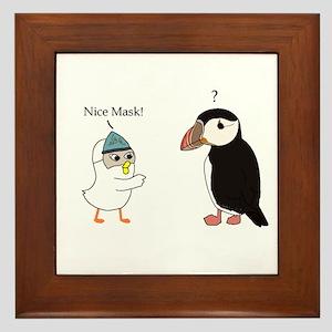 What Mask? Framed Tile