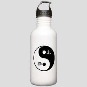 Tai Chi Yin Yang Stainless Water Bottle 1.0l