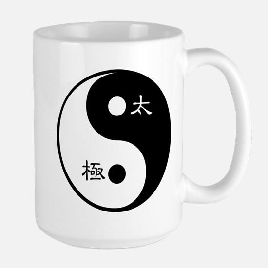 Tai Chi Yin Yang Symbol Mugs