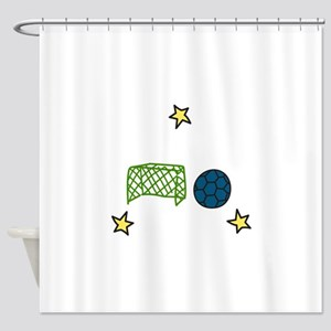 Soccer Sport Shower Curtain