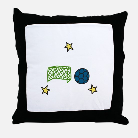 Soccer Sport Throw Pillow