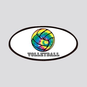 Tie Dyed Volleyball Patches