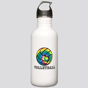 Tie Dyed Volleyball Water Bottle