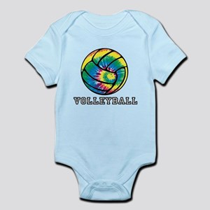 Tie Dyed Volleyball Body Suit
