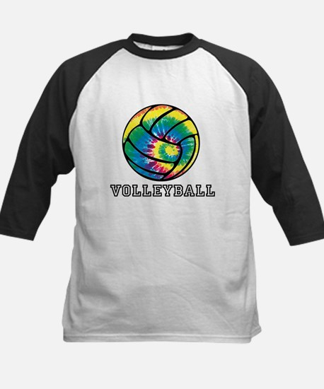 Tie Dyed Volleyball Baseball Jersey