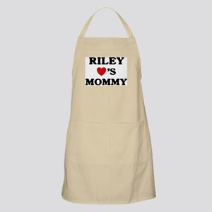 Riley loves mommy BBQ Apron