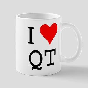 I Love QT Mug