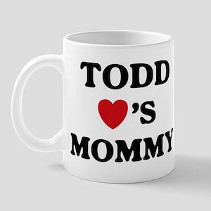 Todd loves mommy Mug