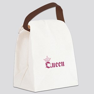 Queen Canvas Lunch Bag