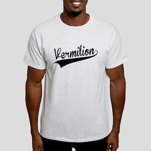 Vermilion, Retro, T-Shirt