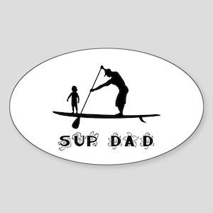 SUP_DAD Sticker