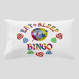 Eat Sleep Bingo Pillow Case