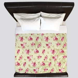 Madame Butterfly King Duvet