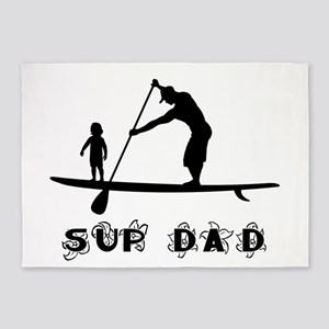 SUP_DAD 5'x7'Area Rug